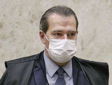 """Ministro Dias Toffoli está em """"perfeitas condições"""", mas precisa evitar ar condicionado"""