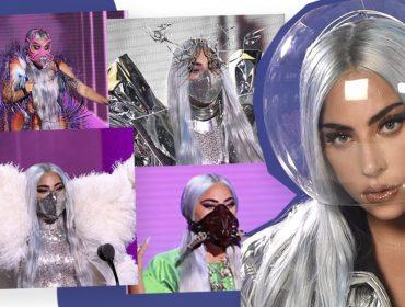 """Lady Gaga usa sete máscaras incríveis em sua participação no VMAs: """"É um sinal de respeito"""""""