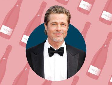 Brad Pitt se prepara para lançar champanhe rosé de R$ 2 mil nos Estados Unidos. Vem saber!