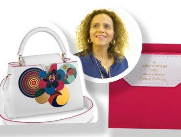 Louis Vuitton lança bolsa assinada por Beatriz Milhazes com ilustrações que transmitem o poder das mulheres