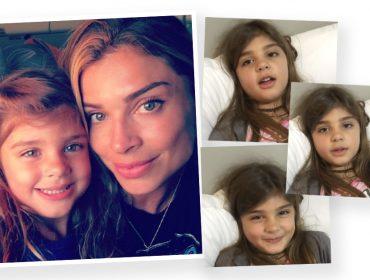 Grazi Massafera é trolada na web pela filha Sofia por causa de seu sotaque paranaense. Play!
