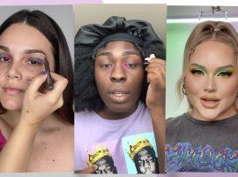 Novo desafio do TikTok transforma maquiagem borrada em look glamouroso. Quem já entrou na onda?