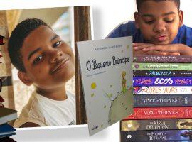 """Fenômeno na web, aos 13 anos, Adriel, do """"Livros do Drii"""", já leu mais de 100 obras e revela: """"A leitura faz a diferença na minha vida"""""""