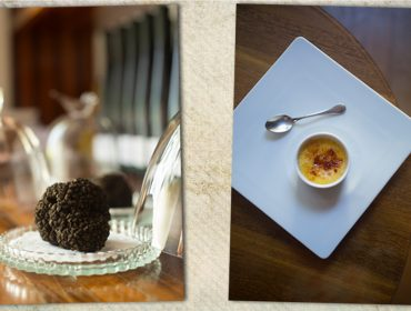Cogumelos e trufas são as estrelas do menu em três tempos da Vinheria Percussi