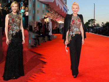 """Cate Blanchett recicla look usado há quatro anos e se posiciona: """"Sempre me referi a mim mesma como um ator"""""""
