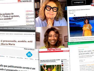 Viralizou! Live de Joyce Pascowitch e Glória Maria ganhou as redes sociais e inúmeros veículos de imprensa