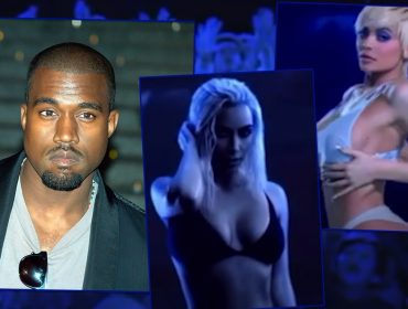 """Kanye West lança novo clipe com cena bizarra envolvendo a mulher e a cunhada: """"Mostra Kylie saindo da vagina de Kim"""". Entenda!"""