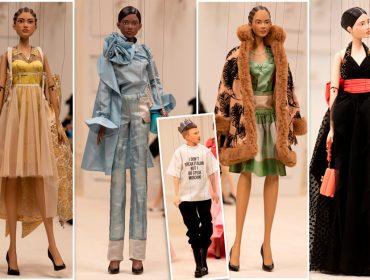 Jeremy Scott troca modelos e fashionistas por marionetes e faz desfile mais criativo da temporada primavera-verão 2021