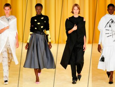 Esperadíssima primeira coleção da Prada feita a quatro mãos por Miuccia e Raf Simons é ponto alto da temporada internacional de moda