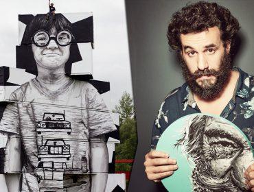 Alexandre Orion, um dos pioneiros da street art no Brasil, faz intervenção no Hospital das Clínicas em homenagem a profissionais da saúde