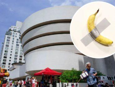 Banana comprada por quase R$ 815 mil será exposta permanentemente em um dos museus mais famosos de NY