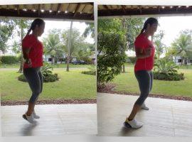 Ivete Sangalo dá show de habilidade ao aparecer pulando corda e Glamurama entrega os benefícios da atividade