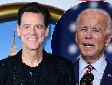 Jim Carrey vai imitar Joe Biden, candidato à presidência dos EUA, na próxima temporada do 'SNL'