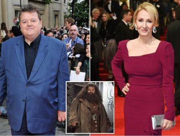 Robbie Coltrane, o Rúbeo Hagrid da telona, defende J.K. Rowling de acusações de transfobia