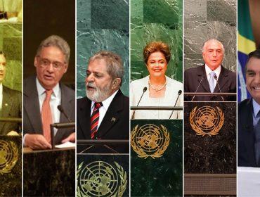 Após discurso de Bolsonaro na ONU, relembre participações marcantes de outros líderes brasileiros