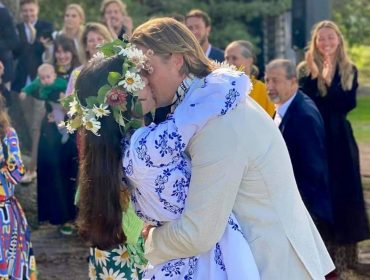 Dimitri Mussard e Suada Rrahmani se casam na Finlândia com cerimônia para família e amigos íntimos