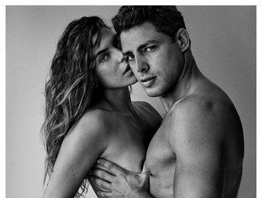 Cauã Reymond e Mariana Goldfarb surgem nus em clique de Mario Testino, e Glamurama mostra já!