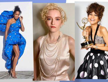 Emmy 2020 não teve o tradicional red carpet, mas as estrelas não decepcionaram nos looks. Às bem-vestidas!