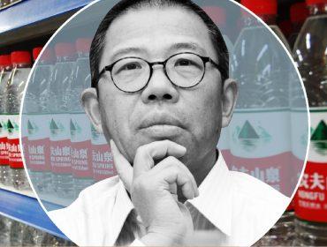 Graças ao sucesso de água mineral, ex-pedreiro foi o homem mais rico da China por alguns minutos nessa semana