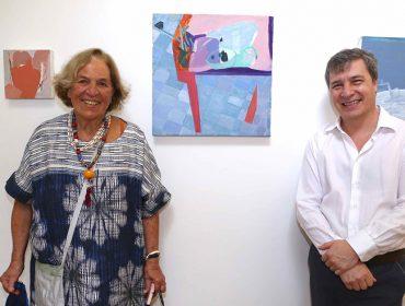 Exposição de Helena Carvalhosa foi inaugurada na Casa do Jardim nesse sábado