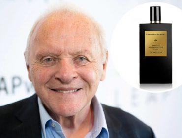 Aos 82 anos, Anthony Hopkins lança perfume com sua assinatura para ajudar a combater a fome infantil