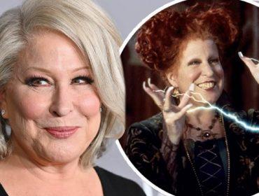"""Bette Midler confirma que 'Abracadabra' terá sequência com elenco original: """"Eu topei de cara"""""""