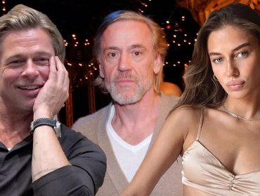 Brad Pitt, Roland Mary e Nicole Poturalski