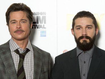 Entenda porque Brad Pitt torce pra nunca mais precisar trabalhar com Shia LaBeouf novamente