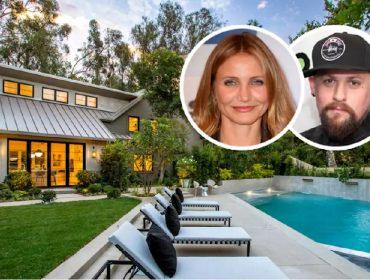 Cameron Diaz e Benji Madden, e seu novo endereço em LA