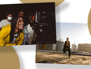 Antônia Morais lança clipe em que mistura cenas gravadas pelo celular com gifs e imagens coloridas. Quase um story!