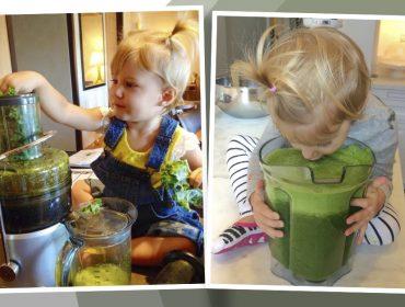 """Gisele Bündchen posta fotos antigas de Vivian Lake e conta curiosidade sobre a filha: """"Fã de suco verde desde pequena"""""""