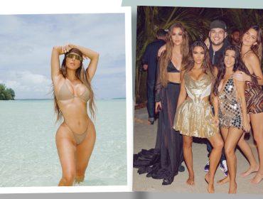 Kim Kardashian gasta R$5,7 milhões para festa de 40 anos em ilha particular na Polinésia Francesa