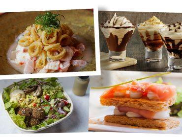 Saladas, sorvetes e pratos leves fazem parte do cardápio de verão dos restaurantes do Pátio Higienópolis