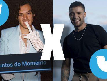 Competição virtual: Harry Styles e Liam Payne, ex-integrantes do One Direction, disputam pódio de assunto mais comentado no Twitter