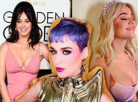 Katy Perry faz 36 anos e, para comemorar, mostramos a evolução do estilo da cantora ao longo da carreira… e da vida