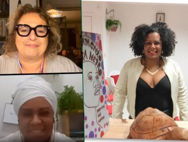 Jaqueline Conceição, criadora de instituto de pesquisa de raça e gênero, dá aula sobre antirracismo. Play!