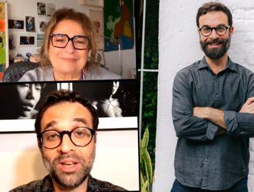 """Saulo Velasco fala sobre amor e paixão em live com Joyce Pascowitch: """"Romeu e Julieta, se não tivessem se matado, estariam separados"""""""