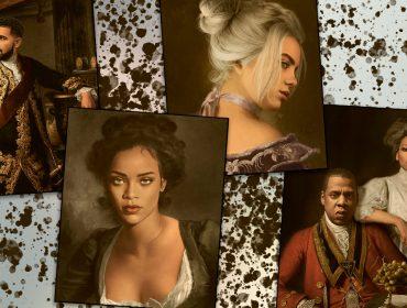 Como seria Rihanna e Beyoncé na Idade Média? Ilustrador francês retrata astros da música como obras da antiguidade