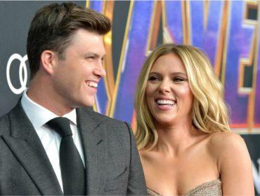 Colin Jost e Scarlett Johansson