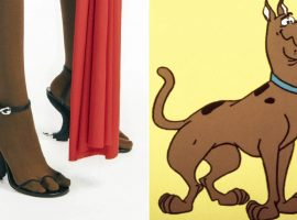 Maison francesa lança sapato 'inspirado' em Scooby-Doo que custa R$ 5.540 e já é sucesso de vendas