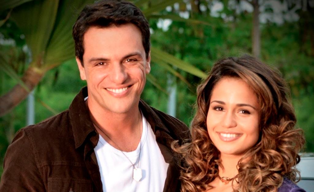 Théo Garcia e Morena, em 'Salve Jorge'    Reprodução Globo