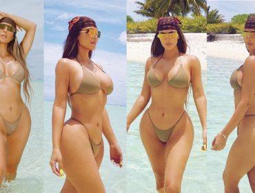 """Festa de aniversário de Kim Kardashian em ilha privada vira meme nas redes sociais: """"Fingir que as coisas estavam normais apenas por um breve momento"""""""