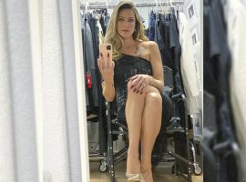 Luana Piovani posta foto de pernas cruzadas e é comparada a grande ícone do cinema. Adivinha quem?