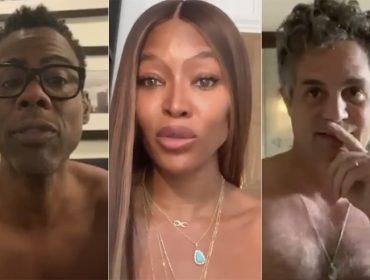 Astros de Hollywood tiram a roupa para incentivar eleitores a votarem nas eleições presidenciais