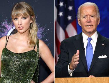 """Taylor Swift revela que vai votar em Joe Biden para presidente dos EUA: """"Ele é o mais qualificado"""""""