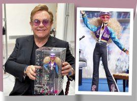 Barbie homenageia 45 anos de show histórico de Elton John com edição limitada da boneca