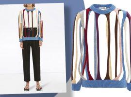 Suéter de tricô vazado assinado por JW Anderson de R$ 7 mil é a peça estranha do momento