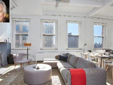 Alan Rickman e o apartamento que foi do ator em NY