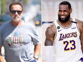 Schwarzenegger e LeBron James unem forças para criar fábrica de bebidas mexicanas