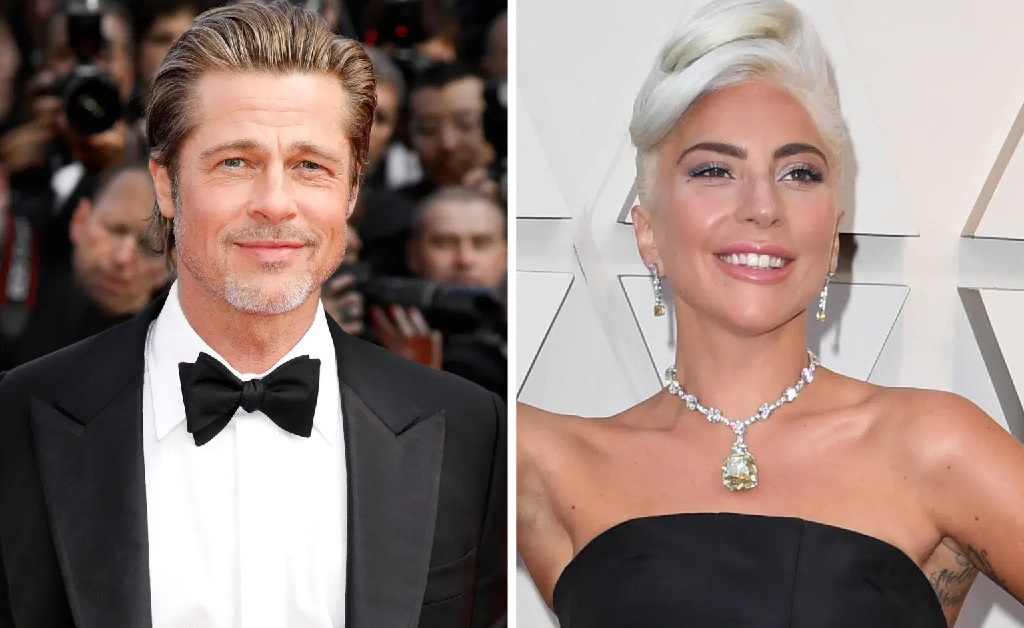 Brad Pitt e Lady Gaga